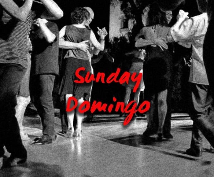 Milonga on Sunday, September 26, 2021